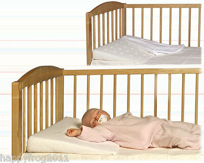£12.97 • Buy Baby Infant Newborn Wedge Pillow Prevents Reflux & Flat Head Syndrome Womar Klin