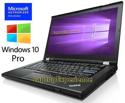 $279 • Buy LENOVO THINKPAD T430 LAPTOP INTEL I5 2.50GHz 8GB 160GB SSD DVDRW WINDOWS 10 PRO