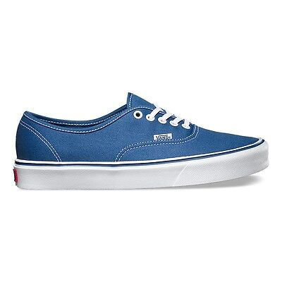 03b36f3dbca116 VANS Scarpe SHOES Authentic Lite Navy SKATE Classic NUOVE New UOMO Donna  TELA • 34.95€