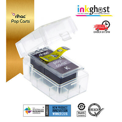 AU18 • Buy Black PG-645 Pop Carts Canon Compatible Refills For MG2460 MG2560 MG2960