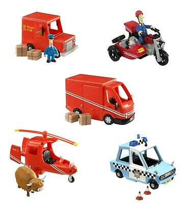 Postman Pat Various Vehicles Van SDS Delivery Helicopter Selbys Police Car New • 17.35£