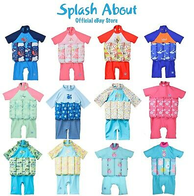 £15 • Buy Splash About UV Float Suit With Adjustable Buoyancy Learn To Swim Floatsuit
