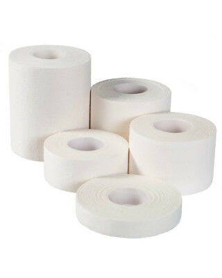 Steroplast White Zinc Oxide Tape Roll Sports Strapping Medical Clinical ZO - 10m • 3.95£