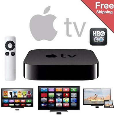 AU212.87 • Buy NEW! Apple TV 3rd Gen Digital HD Icloud Air Video Media Music Player Live Stream