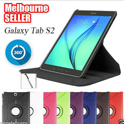 AU9.93 • Buy Smart Rotation Stand Tab S2 Case Cover For Samsung Galaxy Tab S2 8.0 9.7 Tablet
