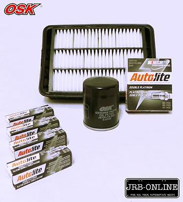 AU72.33 • Buy Mitsubishi Outlander Zg Zh 2.4l Oil Air Filter Service Kit+spark Plugs 2006-on