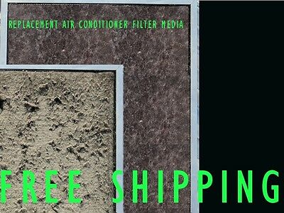 AU18.99 • Buy Air Conditioner Return Air Filter Media Material - 300x600mm G2 - Replacement