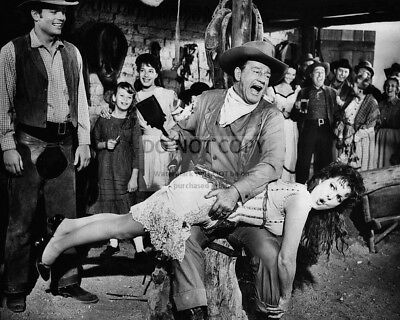 $7.54 • Buy JOHN WAYNE & MAUREEN O'HARA IN  McLINTOCK!  - 8X10 PUBLICITY PHOTO (ZY-081)
