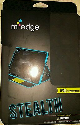 $15.99 • Buy New M EDGE Black Stealth For IPad 5TH Generation  Griptrack Technology, Tablet.