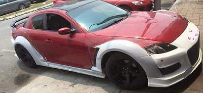 AU688 • Buy Mazda RX8 Rocket Bunny Style Front And Rear Wide GT Fenders