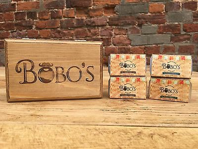 The Complete Bobos Beard Company Mens Tash Moustache Wax Gift Set Kit • 39.99£