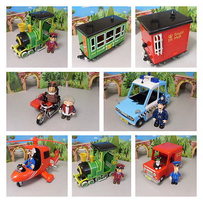Postman Pat Vehicles And Figures -- Please Select From The Stock Menu • 12.99£