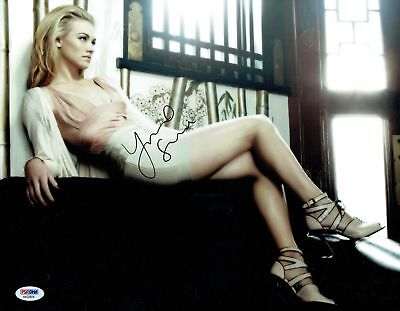$ CDN225.05 • Buy Yvonne Strahovski Signed Sexy Authentic Autographed 11x14 Photo PSA/DNA #AA22824