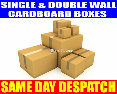 Postal Packing Cardboard Boxes *Multi Listing* Mailing Packaging Cartons • 12.67£