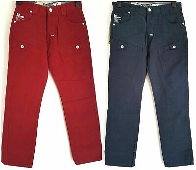 Men's Crosshatch Casual Chino Trousers Straight Leg Pockets SALE WAS £30 NOW £20 • 20£