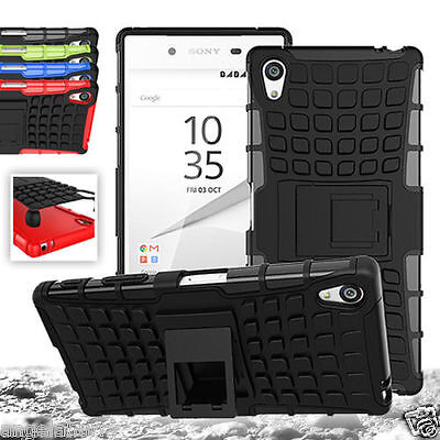 AU4.93 • Buy For Sony Xperia Z5 Compact Heavy Duty Strong Tradesman TPU Hard Case Z5 Compact