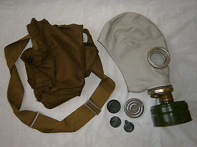 $24.95 • Buy Soviet Gas Mask GP-5 NBC Protection Filter Case Russian Military Surplus USSR
