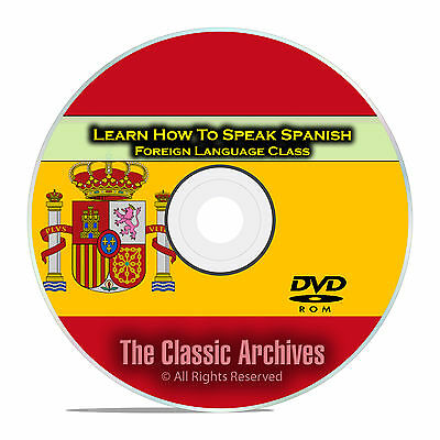 £4.25 • Buy Learn How To Speak Spanish, Fast Foreign Language Training Course, DVD E16