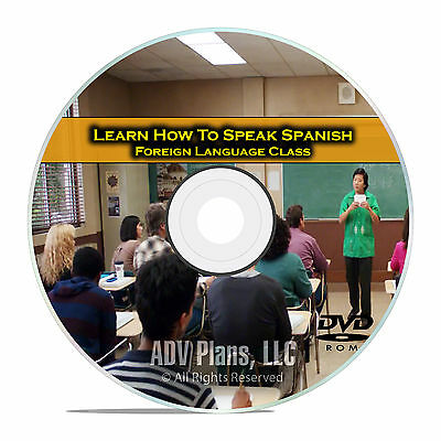 £4.25 • Buy Learn How To Speak Spanish, Fluent Foreign Language Training Class, DVD E16