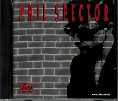 £14.51 • Buy Phil Spector - Back To Mono - 1958-1969 - Cd # 3 - Mint Cd