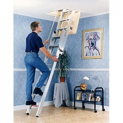 Youngman Deluxe 2 Section Aluminium Loft Ladder  • 229£