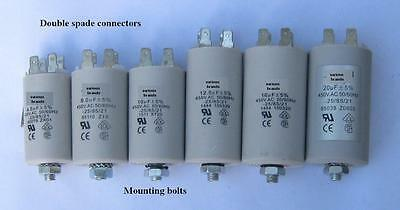 AU5.60 • Buy Motor (240V)capacitors 1, 1.5, 2,  2.5, 3, 4, 5, 6, 7, 8, 10, 12.5, 14, 16, 20uF