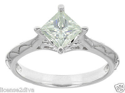 $269.99 • Buy Charles Winston Moissanite Engagement Ring Made In The Usa Life Warranty 7