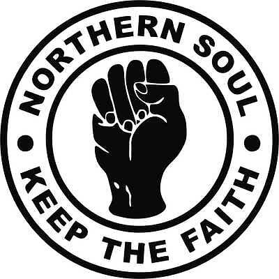 2 X Northern Soul Car Camper Laptop  Window Bumper Scooter Guitar Sticker Decal • 1.60£