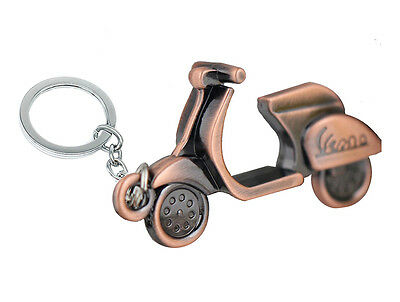 Scooter Vespa Bike Pendant Keyring Dangle Charm Metal Alloy Jewellery Key Ring  • 5.11£