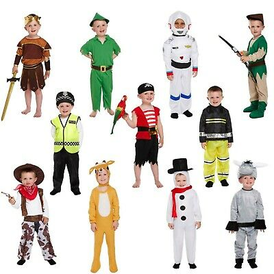 £7.45 • Buy Toddler Boy Fancy Dress Up Costume Child Party Outfit World Book Day Kids Age 3+