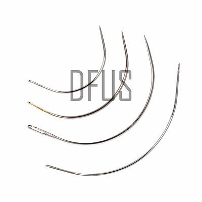 £3.99 • Buy Curved Needles, 2 , 3 , 4 , 5 , 6  All Sizes, Upholstery, Hand Sewing Repair Kit