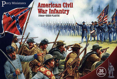 £18.99 • Buy American Civil War Infantry - Perry Miniatures - 28mm - Acw