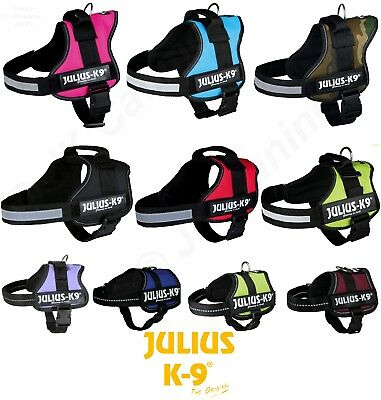 £39.99 • Buy Julius K9® Power Harness Strong Adjustable & Reflective Dog Puppy Harnesses