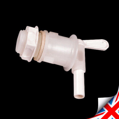 Robust Lever Tap For Fermentation Bucket Home Brew Wine Or Beer 360 DEGREE  • 6.29£