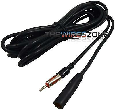 $8.95 • Buy 15 Feet Universal Male To Female Extension Radio AM/FM Car Antenna Adapter Cable