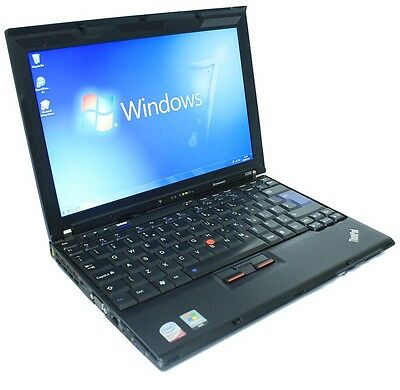 Cheap Laptop IBM Lenovo 1.6Ghz 2GB 60GB Core 2 Duo WiFi Windows 7 & Office  • 110.87£