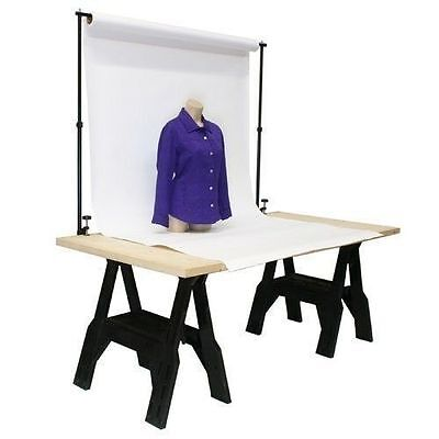 Tabletop Background Backdrop Support Frame - Home Studio Product Photography DIY • 39.95£