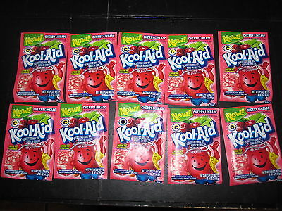 Kool-Aid Drink Mix Cherry Limeade 10 Count  • 3.76£