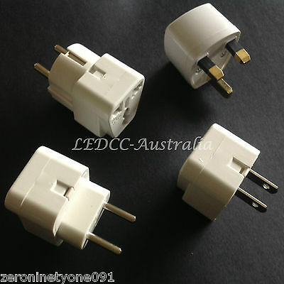 AU23.91 • Buy AU To BALI  THAILAND  ASIA Combo Premium Universal Travel Adapter Converter 4pc