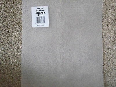 Darice 14 Count Plastic Canvas 8.25  X 11  - Choice Of 1 2 5 9 12 18 Sheets • 8.70£