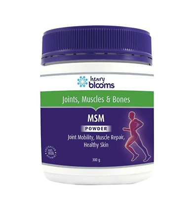 AU22.98 • Buy Henry Blooms Msm Powder 300g