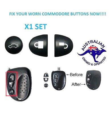 AU2.72 • Buy 1X  Holden Commodore Key Buttons SET VS VT VX VY VZ WH WK WL