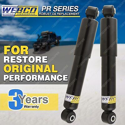 AU104.78 • Buy Pair Rear Webco Elite Shock Absorbers For SUZUKI SIERRA 4WD SJ80 Hard Soft Top