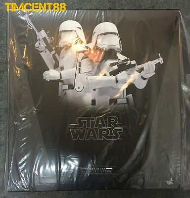 $ CDN439.85 • Buy Hot Toys MMS323 Star Wars First Order Snowtrooper Officer Snowtroopers Set
