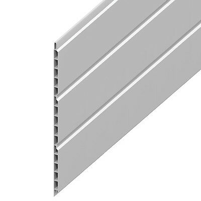 10 X FULL 5 METRE LONG 300mm Hollow 9mm Soffit Board FREE DELIVERY • 134.99£
