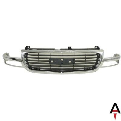 $197.14 • Buy Chrome Grille Shell Surrond W/Black Insert For 1999-2002 GMC Sierra 00-06 Yukon