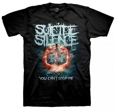 £15.83 • Buy Suicide Silence You Can't Stop Me Shirt S M L XL XXL T-Shirt Official Tshirt New