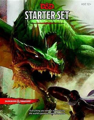 AU36.25 • Buy Dungeons & Dragons Starter Box (D&D Boxed Game): Fantasy Roleplaying Game Starte