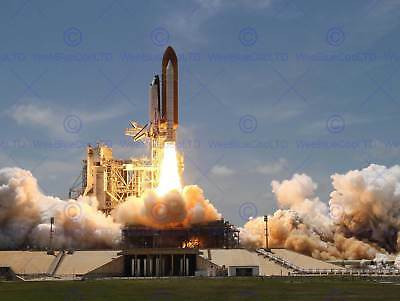 Space Shuttle Atlantis Launches From Ksc Art Print Poster 412pyb • 9£