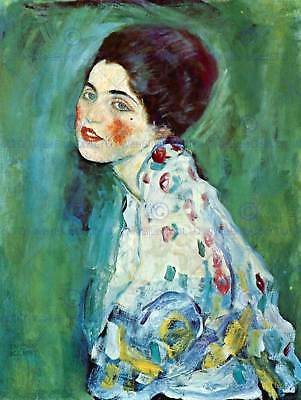 $ CDN15.56 • Buy Gustav Klimt Portrait Of A Lady Old Master Art Painting Print Poster 1141om